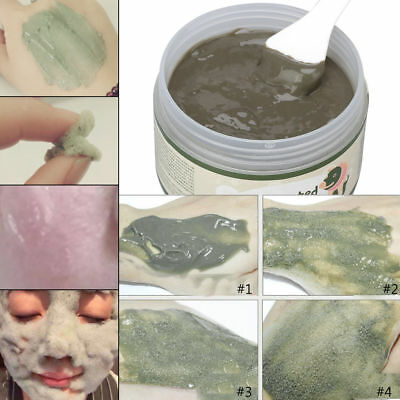 100g Milky Carbonated Bubble Clay Mask Skin Care Deep Cleansing Beauty HOT