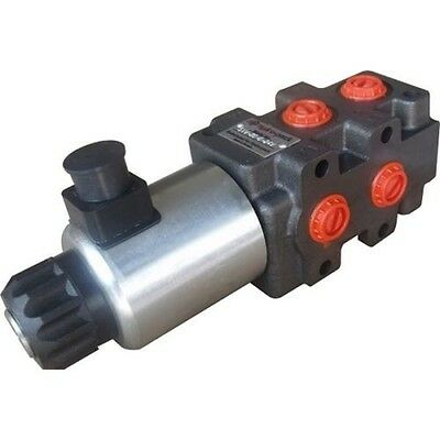 "Hydra Part 1/2"" 6 Port Solenoid Diverter Valve Open Centre 24VDC"
