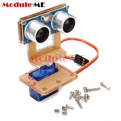 Analog Servo and HC-SR04 Ultrasonic Ranging Module Robot Mounting Bracket Kits