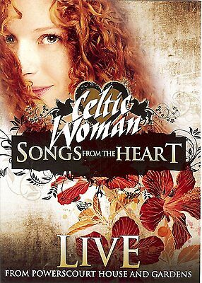 Celtic Woman Songs From The Heart Live From Powerscourt House(DVD & FREE CD SET)