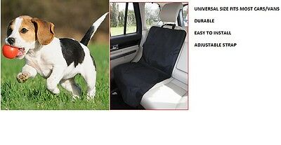 Pet Cat Dog Waterproof Front Car Single Seat Cover Protector Seat Universal Size