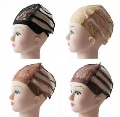 1pc Wig making Base Inner cap Adjustable Weave Breathable Weaving Lace Net