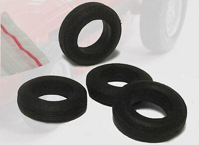 Tron - Front/Rear Spare Tyre Set (4 piece) - Formula One 1950s 1/43 Scale