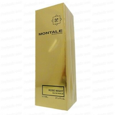 MONTALE PARIS ROSE NIGHT EDP 100ML SPRAY VAPO profumo unisex