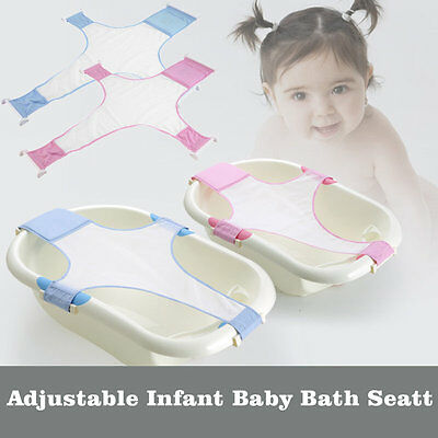 Practical Baby Bath Seat Adjustable Newborn Baby Safety Security Seat Support AU