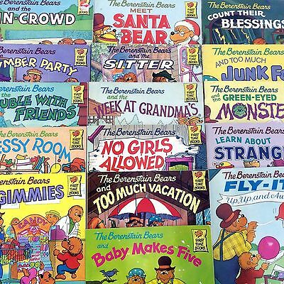 15 Berenstain Bears Books for $15 Free Shipping!!