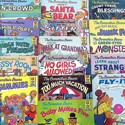 15 Berenstain Bears Books for $17 Free Shipping!!