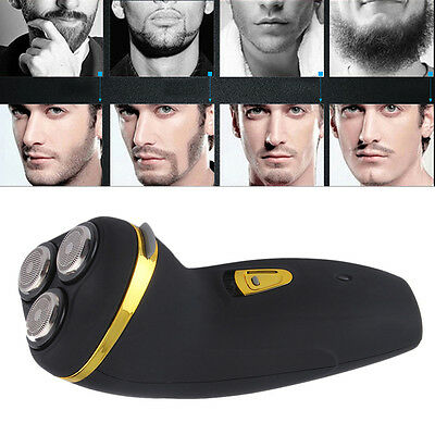 Triple-Head Rechargeable Men's Cordless Rotary Electric Shaver Razor Trimmer AU