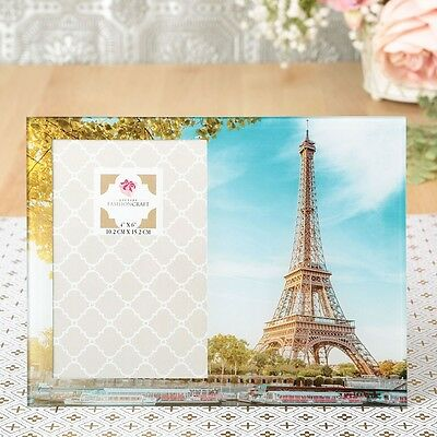 Stunning Eiffel Tower 4x6 Picture frame - Gift Favors / FC-12139