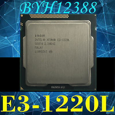 Intel Xeon E3-1220L Low-Power 2.2 GHz Dual-Core LGA1155 TDP 20W