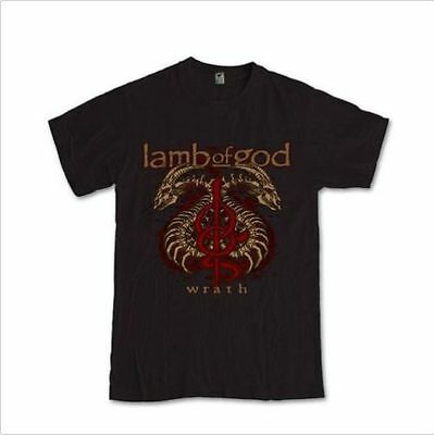 LAMB OF GOD _wrath_ Tees Randy Blythe heavy metal band S M L XL 2XL 3XL Tee