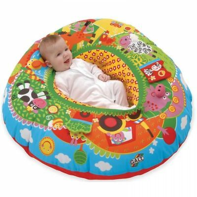 Galt Inflatable Blow Up Playnest Farm Baby Play Toy Seat Chair Support Ring New