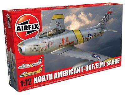 A03082A Airfix North American F-86F/E(M) 1:72 Scale Plastic Model Kit New