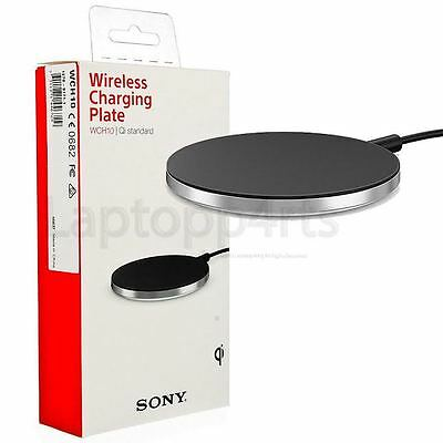 Genuine SONY WCH10 Qi Wireless Charger Charging Plate Pad For Xperia Z3 Black
