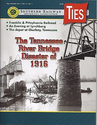 Ties: 1st Qtr 2017 issue of SOUTHERN RAILWAY Historical Association (NEW)