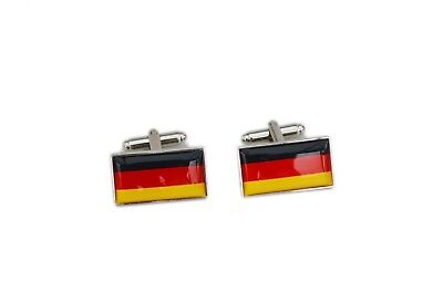 Germany Flag Cufflinks with free organza pouch