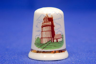 Lowestoft Museum Suffolk China Thimble B/155