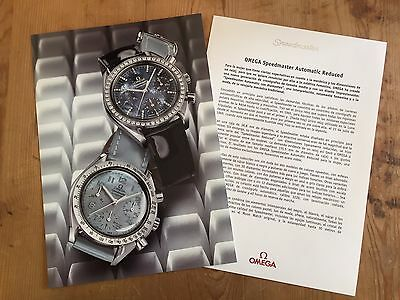 Press Kit OMEGA Nota de Prensa - Speedmaster Automatic Reduced - Watches