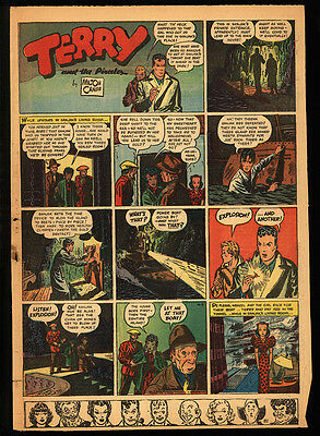 TERRY AND THE PIRATES Milton Caniff 1934 - 1946 (533 Sunday pages) + Dick Tracy