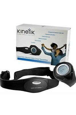 Kinetik Medical Heart Rate Monitor With Chest Transmitter, Brand New