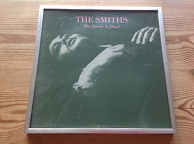 "The Smiths The Queen Is Dead Superb 12"" X 12"" Framed Vinyl Album Sleeve +Hanging"