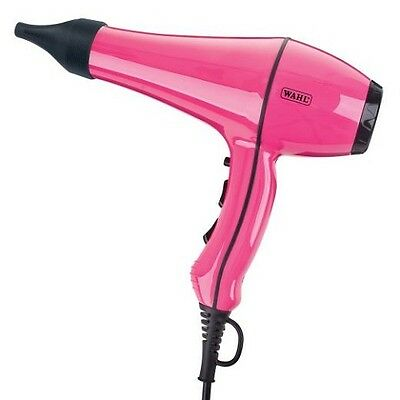 Wahl Powerdry Hairdryer 2000W - Model ZX720 - Pink