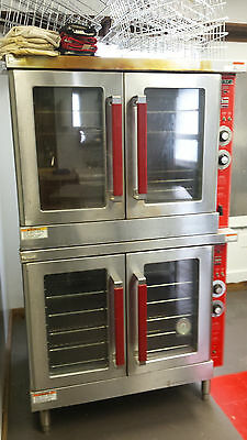 """Vulcan"" Commercial Double Oven - Gas"