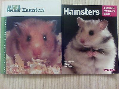 Animal Planet - Hamsters & Hamsters: A Complete Pet Owner's Manual - 2 BOOKS!!!