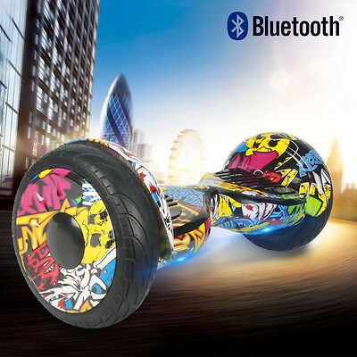 """Gyropode overboard skateboard Scooter électrique Hip 10"""" pouces neuf Bluetooth"""