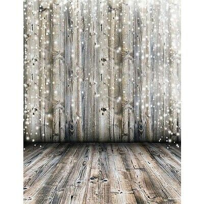 Vinyl Photography Backdrop Dreamy Wooden Wall Floor Background Studio Prop3x5ft