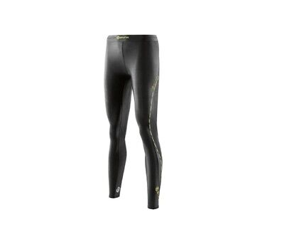 Skins DNAmic Womens Compression Long Tights (Black) + Free AUS Delivery!