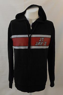 New Justin Timberlake Jay-Z Legends Of Summer 2013 Concert Tour Zip Up Hoodie M