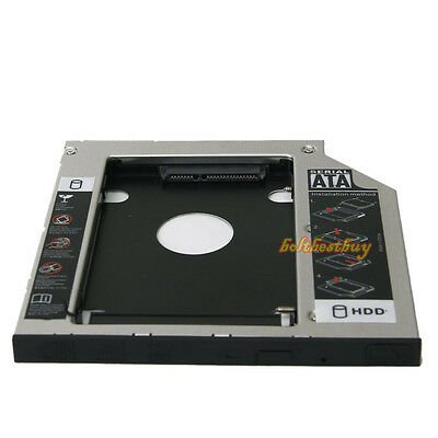 SATA Slim 2nd HDD HD HARD DRIVE 9.5mm Caddy Tray F ACER BENQ ASUS LENOVO HP DELL