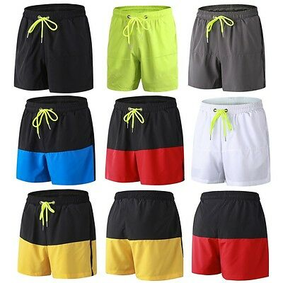 Men's Casual Sport Shorts Bodybuilding Running Training Gym Short Pants Trousers
