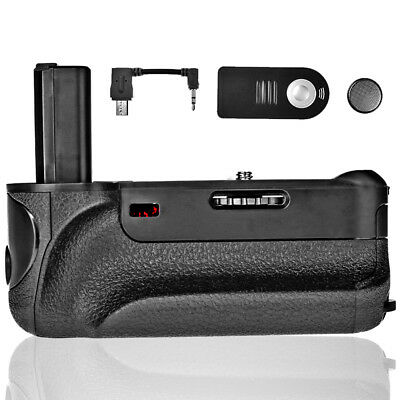 Travor Camera Battery Grip Pack For Sony A6000 Mirrorless + IR Remote