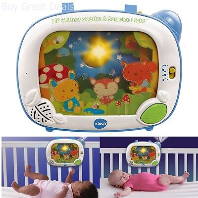 Baby Soother Animal Crib Light Music Player Nursery Light Projector Child Toy