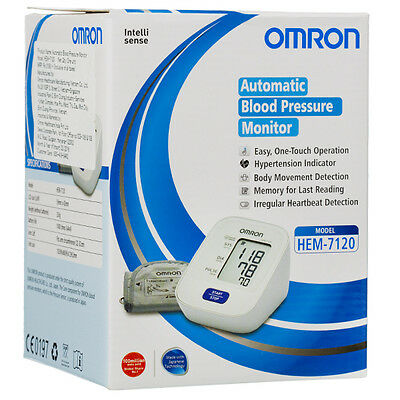 INTELLISENSE Sealed HEM-7120 Omron Automatic Upper Arm Blood Pressure Monitor