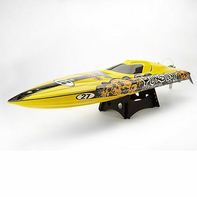 Racing RC Boat TFL Hobby 1106 Pursuit Water Cooling Brushless Speedboat 82cm