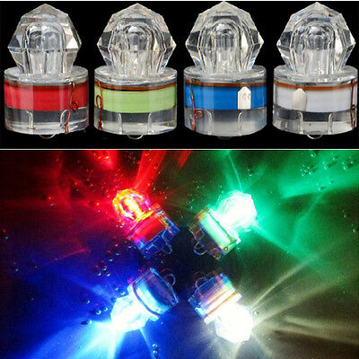 LED Diamond Shape Deep Sea Fishing Lamp LED Attracting fishing Light for Fun