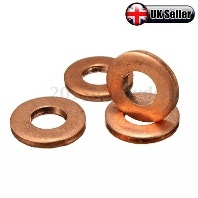 FOR FORD TRANSIT MK7 2.2 2.4 TDCi COMMON DIESEL INJECTOR COPPER WASHER SEAL -UK