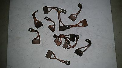 """FORD STARTER PARTS - BRUSHES - BRUSH, GROUND, 12V - FD 4-1/2""""  12 pieces"""