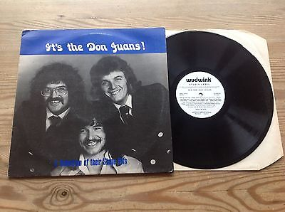 The Don Juans A Selection Of Their Stage Hits 1977 Uk North East Group Signed Lp
