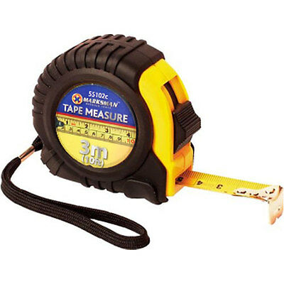 Tape Measure 3M 5M 10M - Different Lengths Auto Lock Rubberised