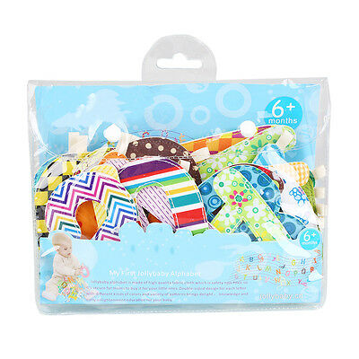 26pcs/set Soft Early Education Baby Crib Letter Cloth Book Bumper Care Bedding