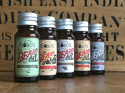 A Bobos Beard Company Beard 10Ml Oil These Beard Bullets Revive And Condition