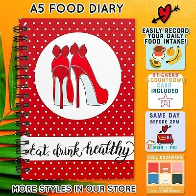 Food Diet Diary Speed Slimming World Compatible Tracker 42 Journal Goal Weight