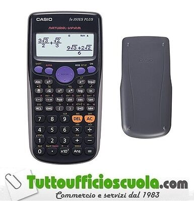 Calcolatrice Scientifica Casio Fx-350Es Plus  Guscio Rigido