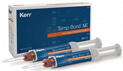 TEMP BOND NE AUTOMIX KERR 2x11,7 gr. DENTAL CEMENT.