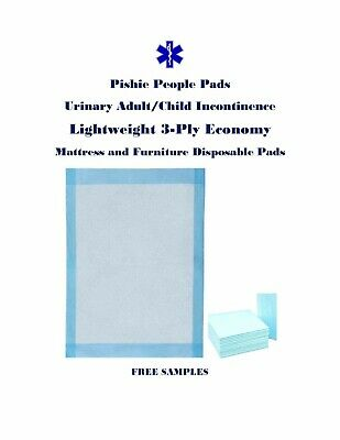 "300 17x24"" Pishie Adult/Child Disposable Urinary Incontinence Pee Pads"