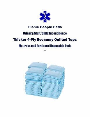 "150 23x36"" Cheap Quilted 4-Ply Adult Disposable Urinary Incontinence Pee Pads"